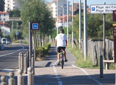 Anglet cycle paths