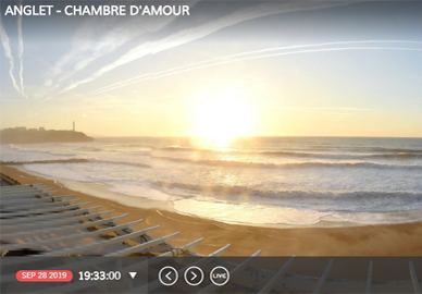 Anglet Webcams