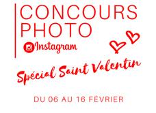 Jeu concours photo Instagram spécial Saint-Valentin