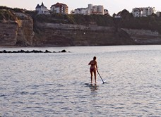 Stand up paddle à Anglet