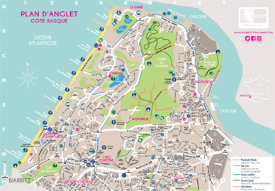 Plans d'Anglet