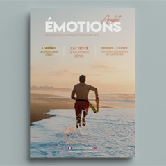 Anglet Émotions, le magazine de l'Office de tourisme